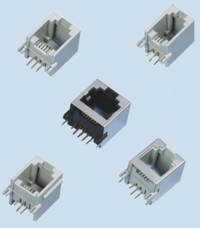 Network socket - CONNECTOR ZP55A